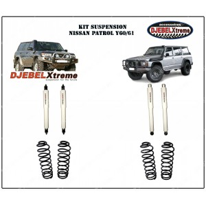 KIT SUSPENSION +5 Y60/61 LONG DJEBELXtreme PERFORMANCE