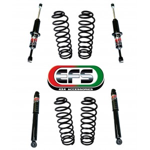 KIT SUSPENSION EFS +30 NISSAN NAVARA NP300-D23 COIL CAB