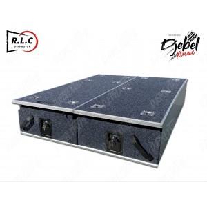 DOUBLE TIROIR AVEC 1 PLATEAU COULISSANT DJEBEL 1000X1380