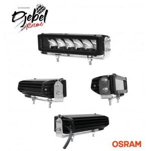 BARRE 6  LEDS OSRAM X10W 60W DJEBELXTREME