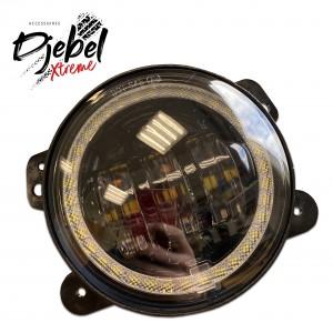 PHARES ANTIBROUILLARDS LED 3.55'' + FEUX DIURNES
