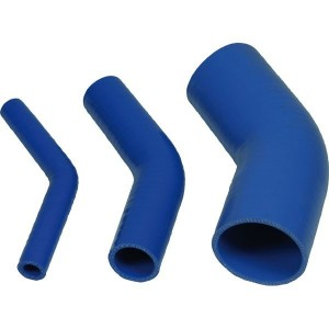 COUDE SILICONE RENFORCE 45°